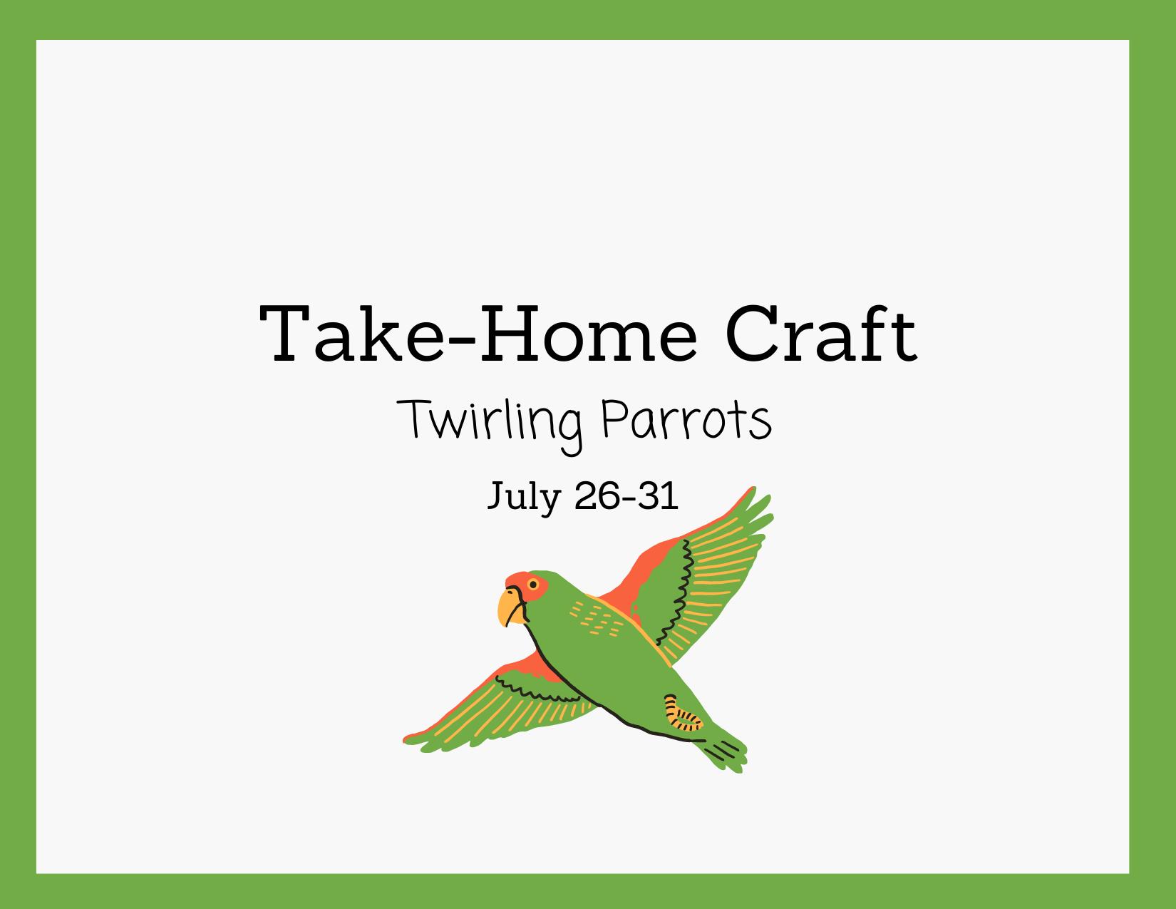 Take-Home Craft | July 26-31